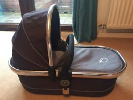 iCandy Peach carrycot Black Jack