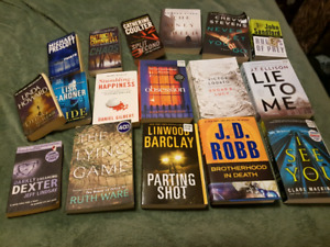 $50 for lot of books