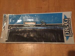 Chrome shifter rod kit for Harley