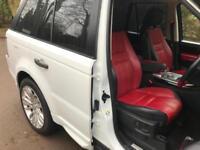 2011 Land Rover Range Rover Sport 3.0TD Autobiography Sport, RED CUSTOM SEATS