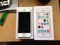 I phone 5s in box