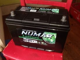 Numax leisure battery lv26mf 12v 100ah deep cycle new