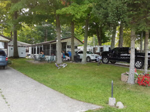 Park Model Trailer in a Beautiful Wooded lot