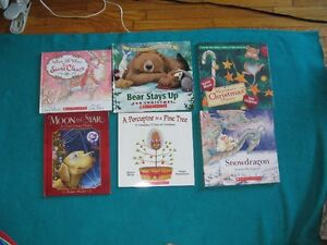 Hard cover  and soft cover Christmas Books