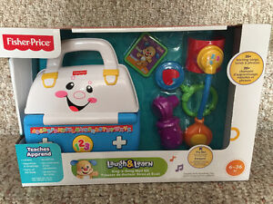 New! Fisher Price laugh & learn sing a song med kit
