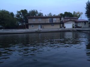40 Min From Regina 4 Bedroom lake front on Pasqua Lake For Rent