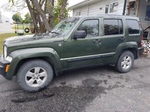 2009 Jeep Liberty SUV, Crossover