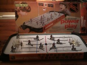 Vintage coleco table top hockey