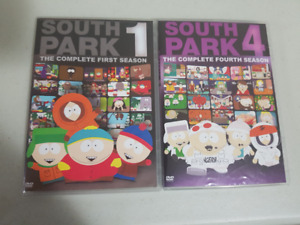 South Park Seasons 1 and 4
