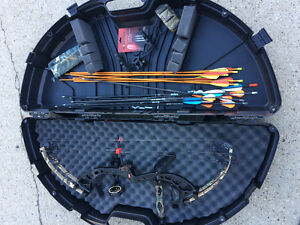 PSE bow and accessories