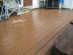 Deck (Composite) - Lifelong Decking (PT understructure included)