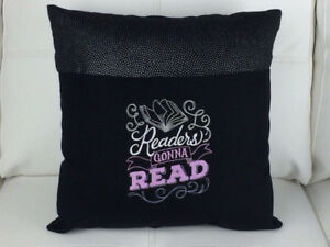 Ideal Gift.. Reading Pocket Pillows -personalized child's name
