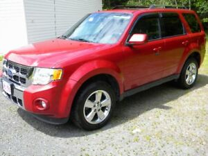 Ford Escape Limited 2011 red exterior black leather interior!