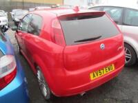 2007 Fiat Grande Punto Hatch 3Dr 1.4 16V 95 Sporting 6Spd Petrol red Manual