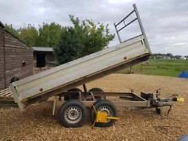 Builders Tipping Trailer