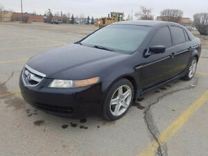 2005 Acura TL Leather Sedan Active status Viper remote starter