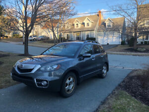2011 Acura RDX-AWD Turbo  with winter tires on rims!