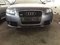 Audi A3 2007 S Line Front Bumper And Grill