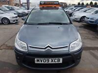 2009 Citroen C4 1.4i 16v ( 90bhp ) SX 1 OWNER FROM NEW LONT MOT LOW MILES