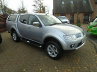 2012 Mitsubishi L200 2.5DI-D CR 4WD LB Pickup Warrior (NO VAT) 64000 Miles
