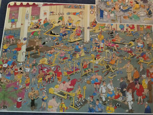 JAN VAN HAASTEREN BOX OF 3-1000 PIECES PUZZLES(CASSE-TETE) West Island Greater Montréal image 3