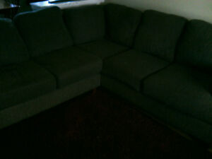 Sectional Couch and Chair