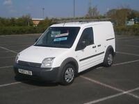 2008 FORD TRANSIT CONNECT 1.8TDCi 75PS T200 SWB PANEL VAN WITH AIR CONDITIONING
