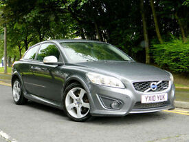 2010 10 Volvo C30 2.0 D R-Design 2dr WITH FSH+FULL LEATHER+FACELIFT!++