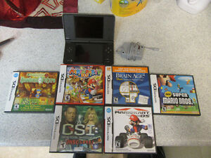 Nintendo DS XL With 6 Games For Sale