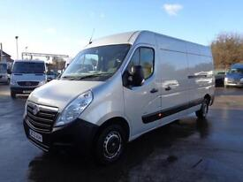 VAUXHALL MOVANO 2.3 CDTI (125ps) | LWB | 1 OWNER | SAT NAV | AIR CON | 2013