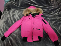 Mint condition Canada Goose Women's Pink Chilliwack Bomber XS