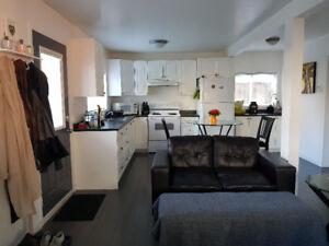Furnished Bachelor Suite bills included for Jan 1st $1300/m
