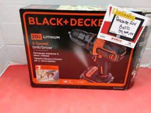 Perceuse Black and decker 20v
