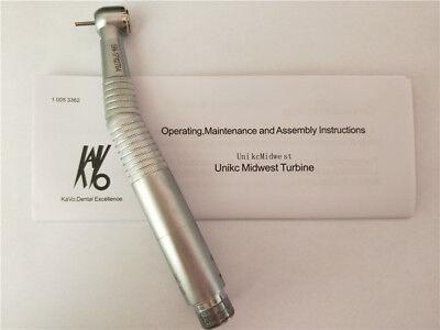 Dental Kavo Style Led Fiber Optic Fast High Speed Handpiece E-generator 2 Hole