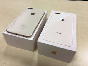 APPLE IPHONE 8 PLUS 64GB SILVER WITH APPLE WARRANTY