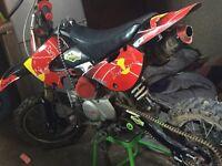 Stomp pit bike