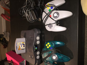 Black N64 Great Condition