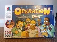 The Simpsons Operation game
