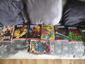 Deadpool marvel graphic novels