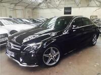 2014 Mercedes-Benz C Class 2.1 C220 CDI BlueTEC AMG Line Saloon 4dr Diesel
