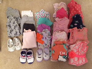 Girls clothes entire lot $25 / full box