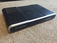 SAGEM Digital TV Receiver & Recorder with hard disk