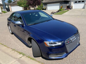 2013 Audi S4 for sale.  Loooow mileage, beautifully maintained.