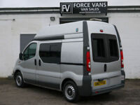 VAUXHALL VIVARO COMBI SPEED CAMERA MINIBUS HIGH TOP CREW CAMPER MOTORHOME VAN