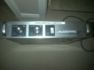 Yorkville Poweramp and Yamaha Mixer