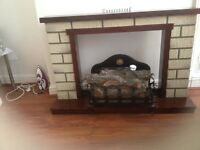 Electric Fire place and fire