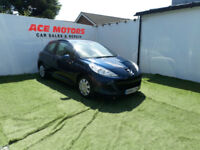 2010 PEUGEOT 207 1.4 S,3 DOOR HATCHBACK,ONLY 37000 MILES WITH FSH