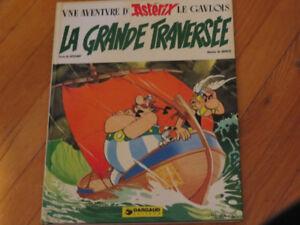 BD ASTÉRIX LA GRANDE TRAVERSÉE  VINTAGE 1975