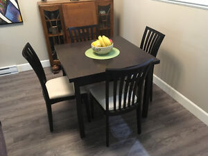 Danish Table and chairs