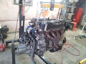 Honda d16a6 engine and transmission complete